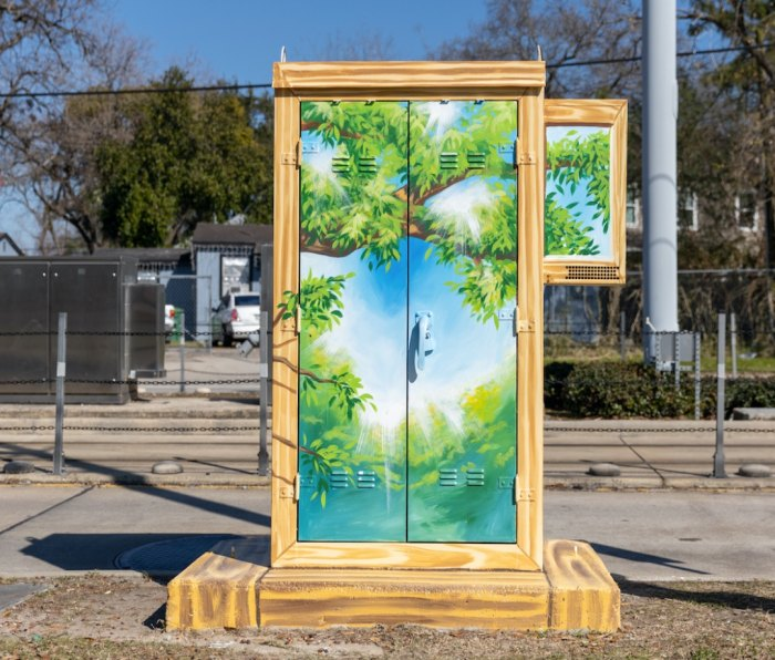 Mini Murals Moody Park District H by Anat Ronen Houston