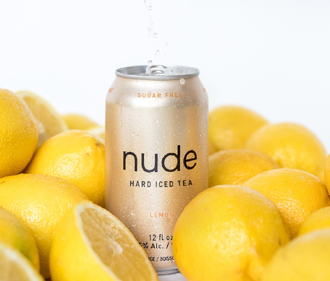 Nude Lemon Hard Iced Tea