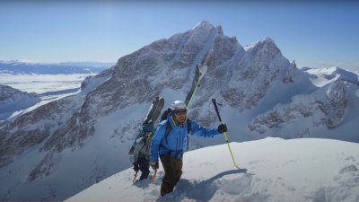 Zahan Mountain Guide Jackson mountaineering skiing