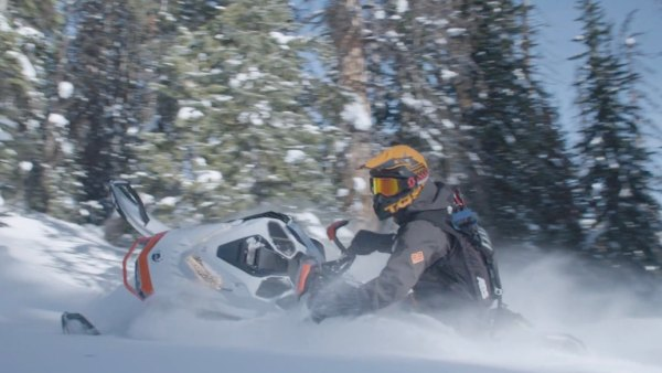 Backcountry Snowmobile.