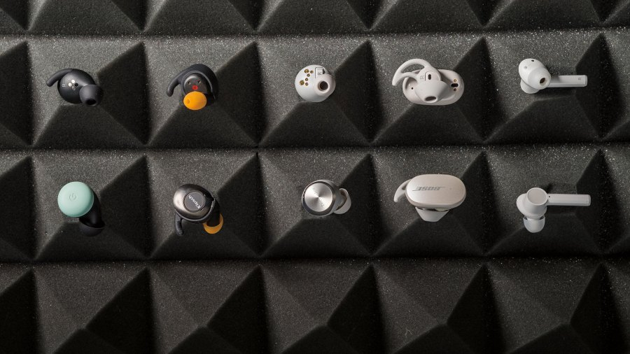 Collection of best new earbuds of 2021