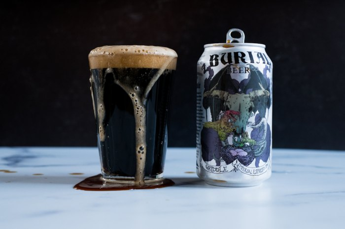 burial beer co - griddle espresso stout