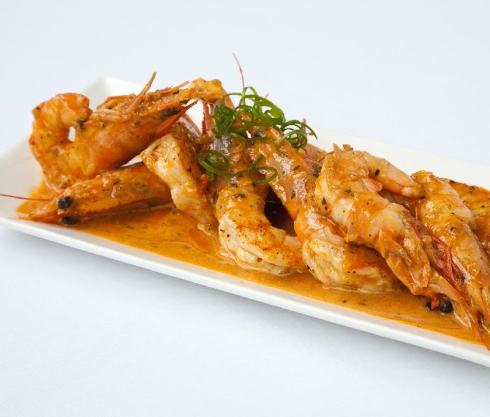 Shrimp Sauteed in Barbecue Butter