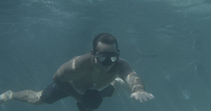 kemper training underwater