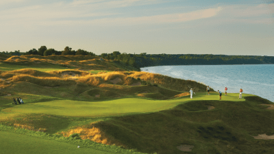 The Great Lakes: The Straits at Whistling Straits, Wisconsin