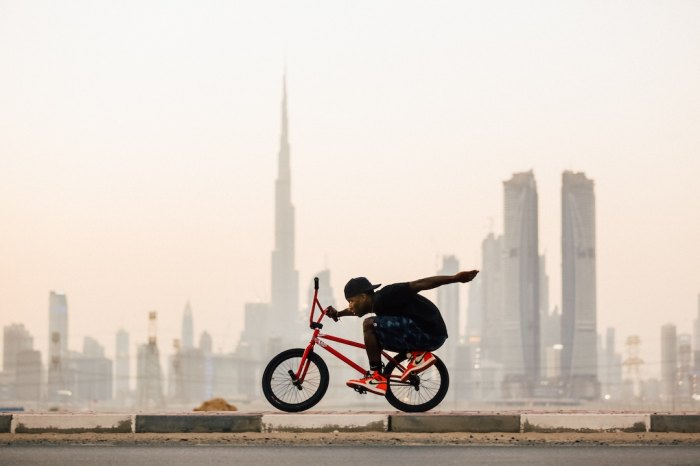 Nigel Sylvester Go Series in Dubai