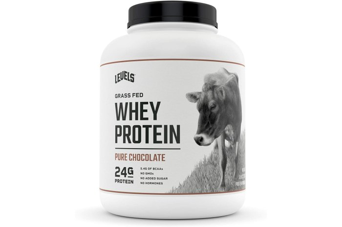 Levels Grass Fed 100% Whey Protein