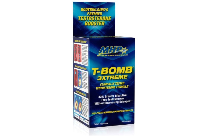 MHP Clinical Strength T-Bomb 3xtreme