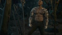 Actor Mehcad Brooks shirtless with bionic arms for 'Mortal Kombat' video game movie