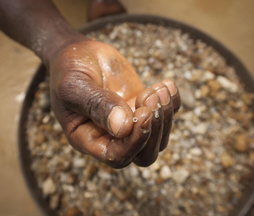 Separating pebbles and diamonds from rubble