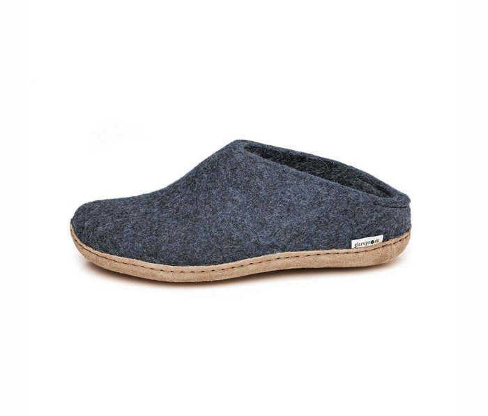 Glerups Slip-On with Leather Sole