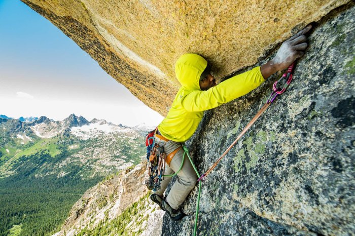 Fred Campbell climber