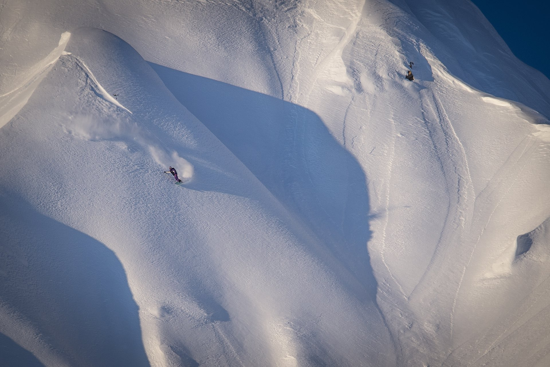 Mark McMorris competing in the Red Bull Natural Selection Tour