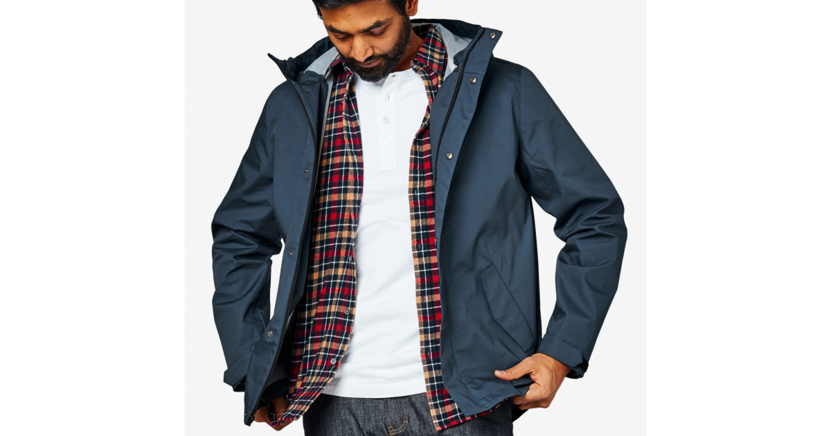 Stay Dry In A Spring Shower With The Portland Rain Jacket