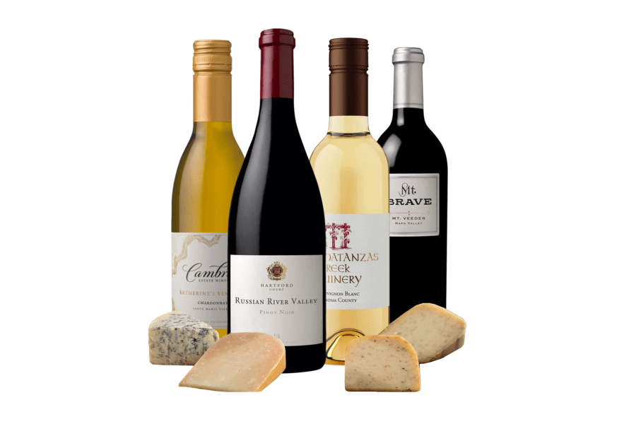 Jackson Family Wine Ultimate California Wine & Cheese Collection