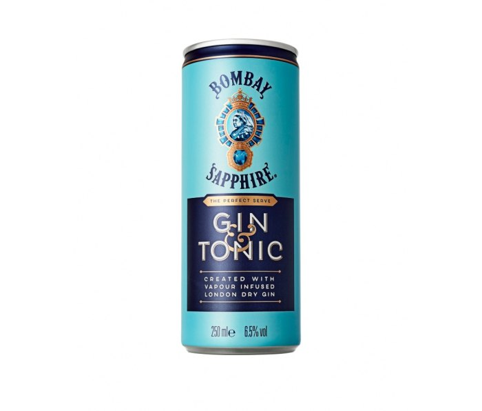 Bombay Sapphire's Gin & Tonic is one of the summer's best canned cocktails.
