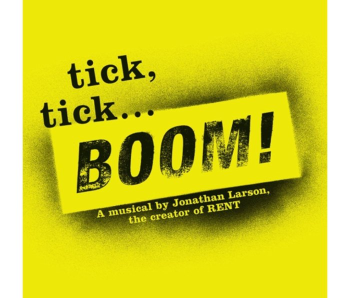 Poster for 'tick, tick...Boom!'
