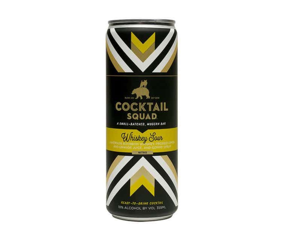 Cocktail Squad's Whiskey Sour is one of the summer's best canned cocktails.