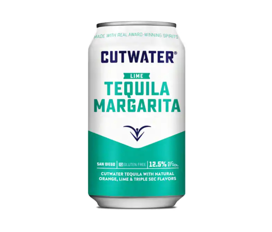 Cutwater Tequila Margarita is one of the summer's best canned cocktails.