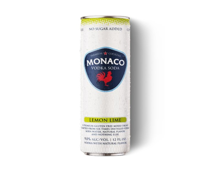 Monaco's Vodka Sodas are some of the summer's best canned cocktails.