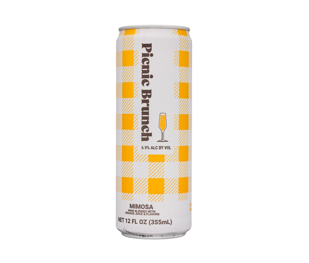 Picnic Brunch's Mimosa is one of the summer's best canned cocktails.