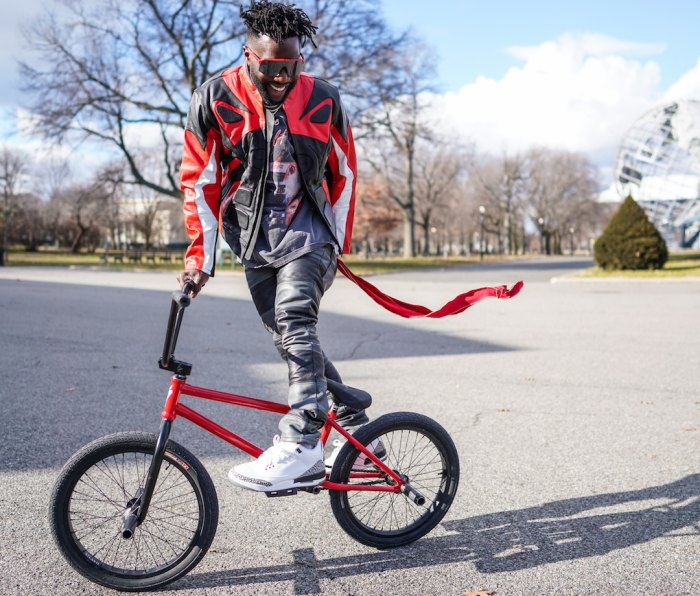 Nigel Sylvester style and bmx icon