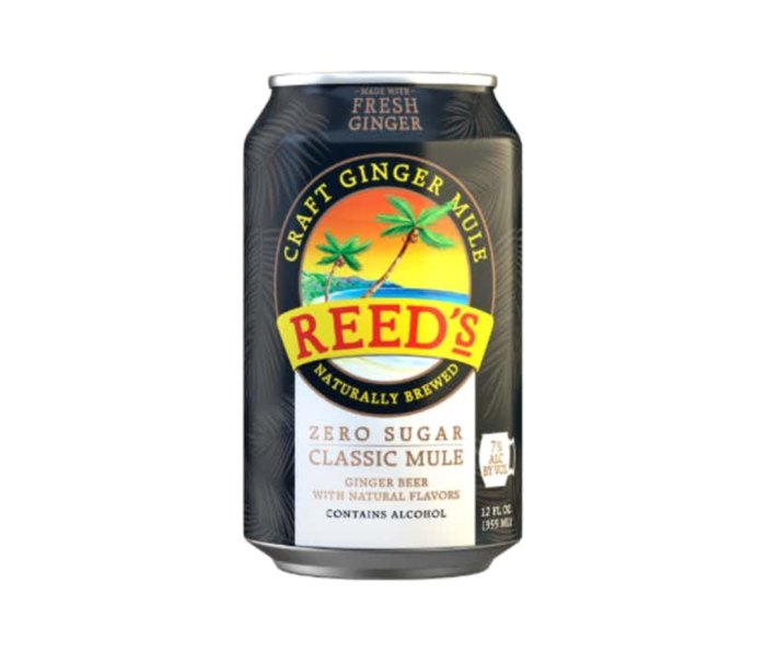 Reed's Zero Sugar Moscow Mule is one of the summer's best canned cocktails.