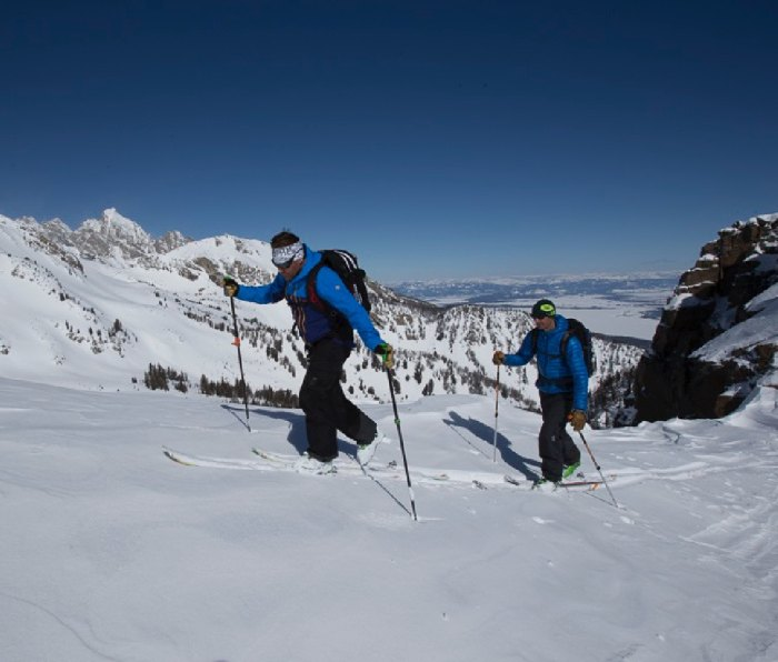 The Mountain Guides offer the ultimate skiing adventures in the Tetons