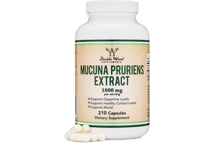 Double Woods Mucuna Pruriens Extract