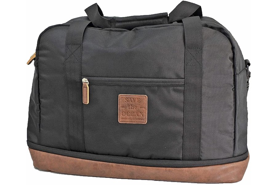 Save the Ocean Apparel Company Recycled Duffel Bag