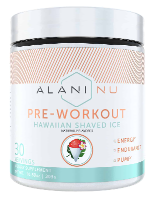Best Pre Workout For Women: Alani Nu
