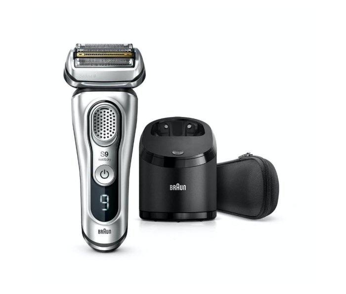 Braun Series 9 Electric Razor with Clean and Charge Station