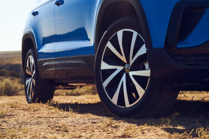 VW Taos Ground clearance