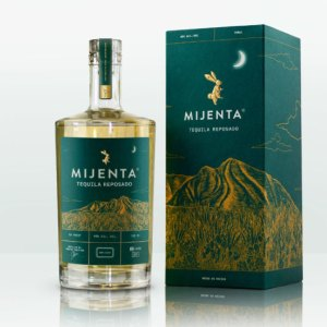 Mijenta Reposado bottle and box