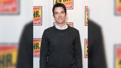 Portrait of John Mulaney at the 24 Hour Plays on Broadway at the American Airlines Theatre