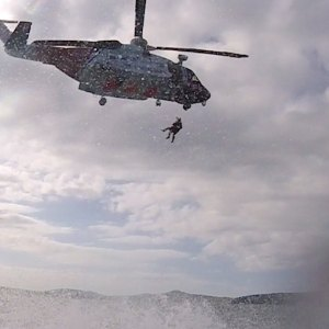 Standup Paddleboarder Coast Guard Rescue