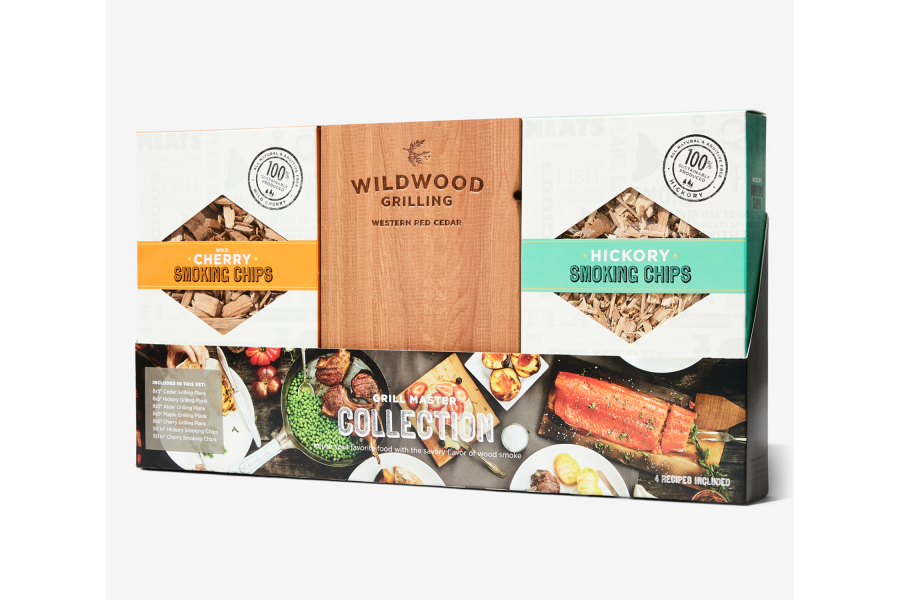 Wood Grill Master Gift Set