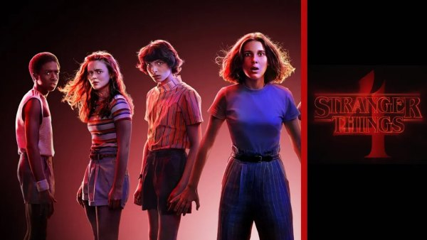 'Stranger Things' Season 4 poster