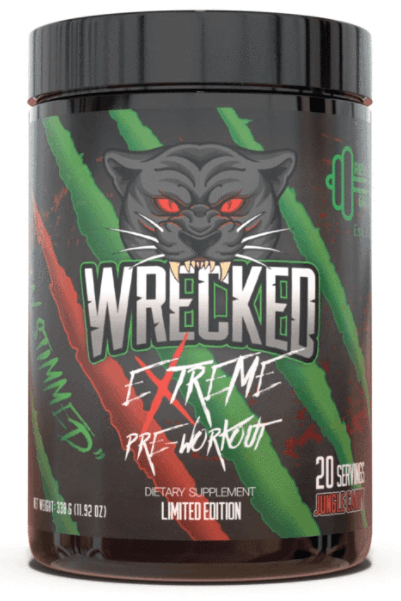 Strongest Pre Workout: Wrecked Extreme