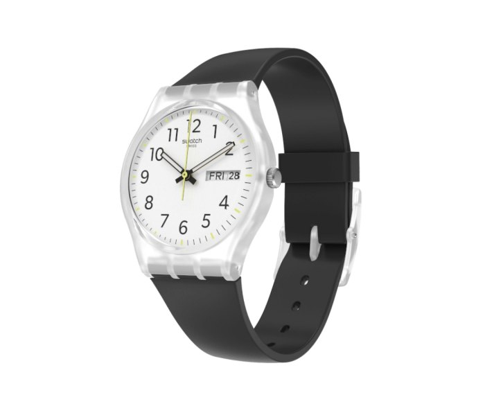 Swatch Rinse Repeat Black men's watches