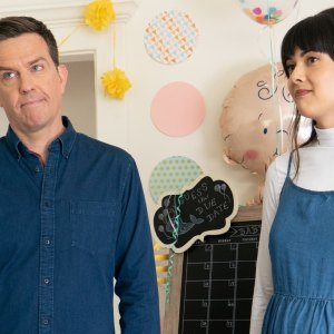 Ed Helms stars in Together Together, a new movie about a single father and surrogacy.