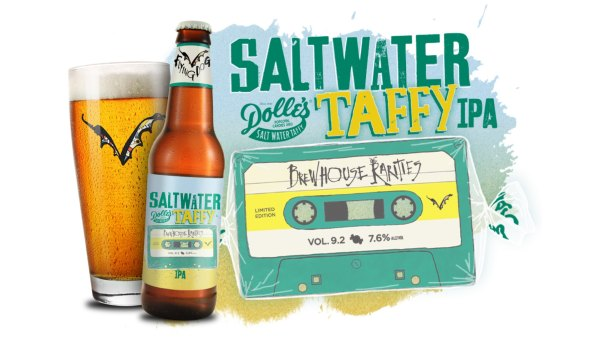 Flying Dog Brewery announces their collab with Dolles, a saltwater taffy icon on the eastern shore.