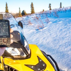 We tested the Garmin GPSMAP 66i in the Yukon.