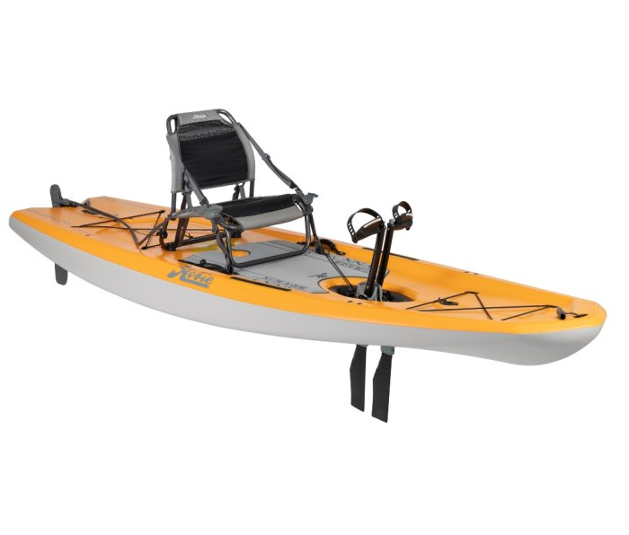 Hobie's new Mirage Lynx kayak is a pedal-powered jack-of-all-trades on the water.
