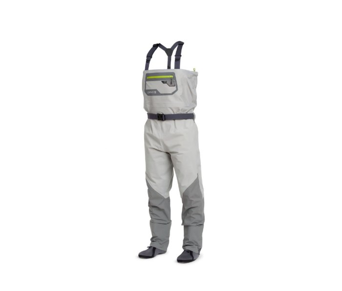 Orvis Ultralight Convertible waders are ultralight and packable.