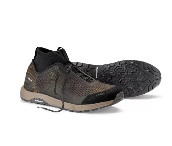 Orvis Pro Approach Shoes are great for wet wading for ultralight fly-fishing.