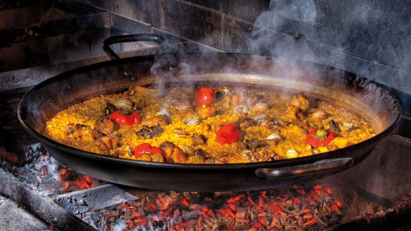 Grilled Surf and Turf Paella