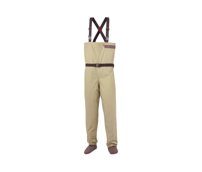 Redington Crosswater waders are ultralight and packable.