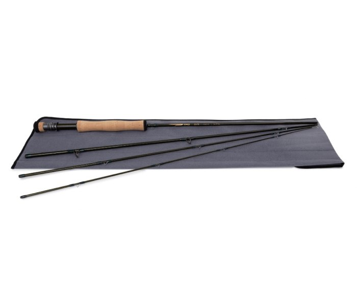 Temple Fork Outfitters BVK fly rods are lightweight and responsive.