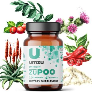 UMZU zuPoo Relief From Temporary Bloating Supplement